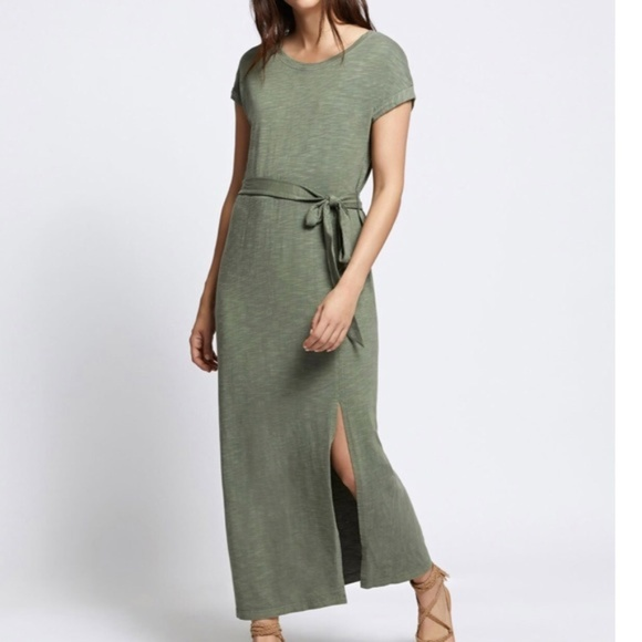 Sanctuary Dresses & Skirts - Sanctuary Isle T-Shirt Maxi Dress Cadet S-M